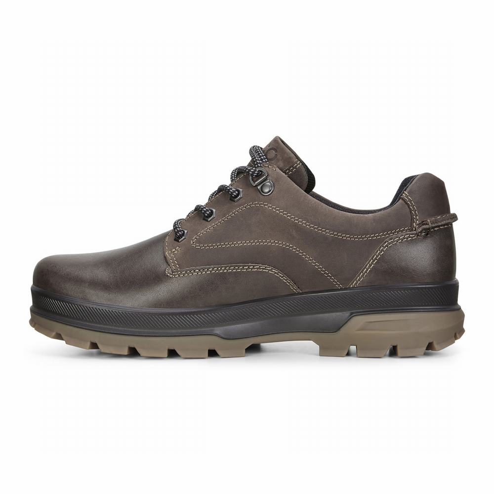 ECCO Mens Rugged Track GTX Tie Casual Shoes | 59151-706