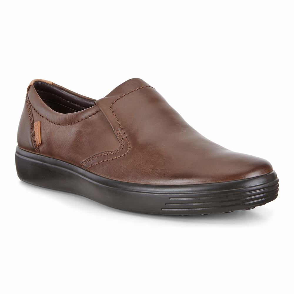 ECCO Men's Soft 7 Casual Shoes | 73407-961