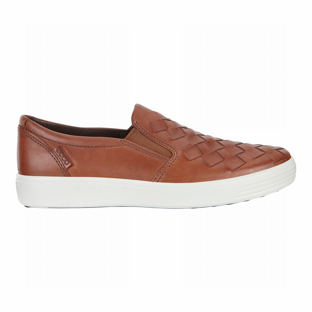ECCO Men's Soft 7 Woven Casual Shoes | 50832-671
