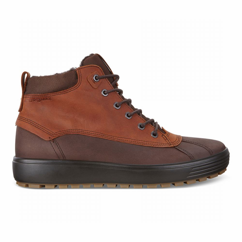ECCO Men's Soft 7 TRED HM High Boots | 87294-770