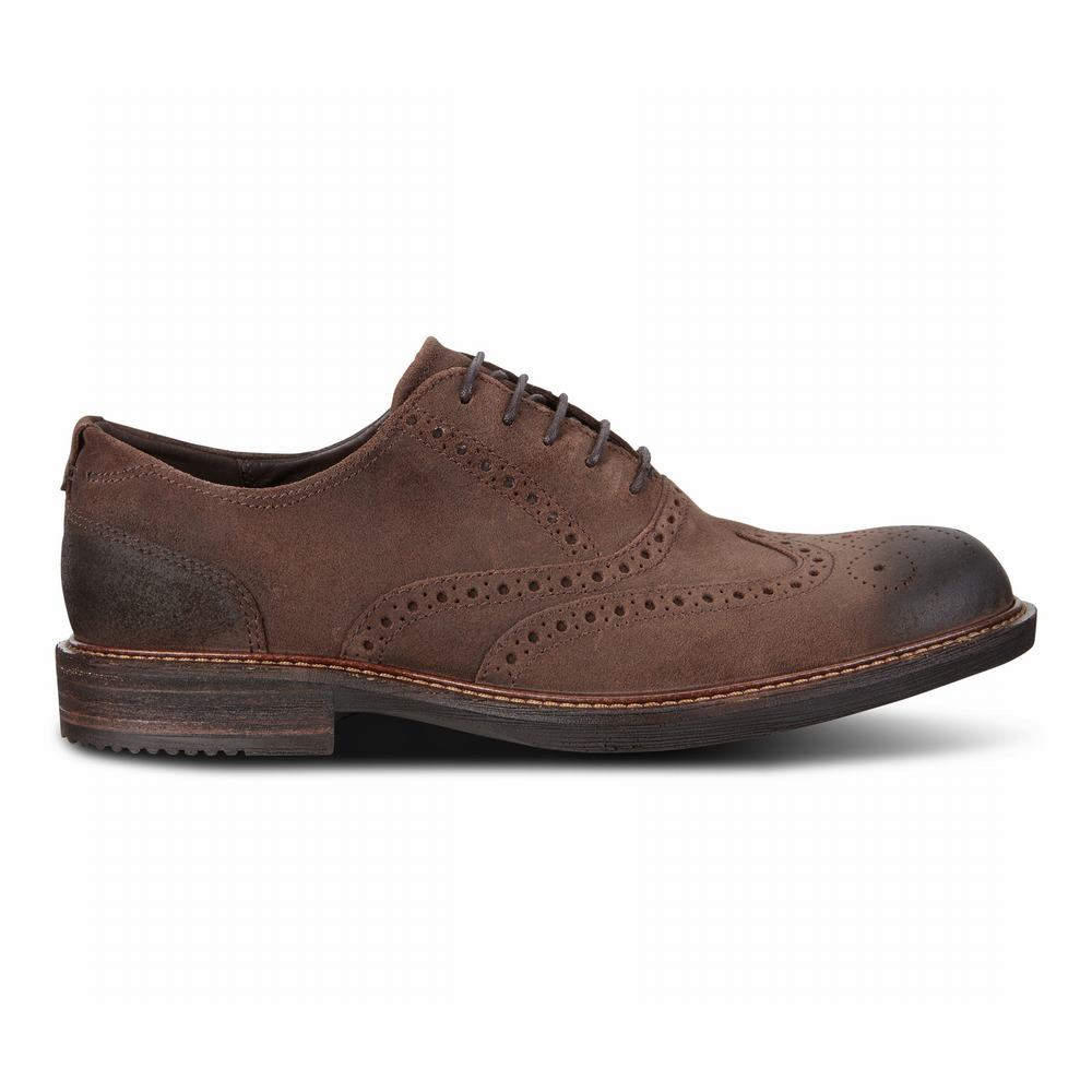 ECCO Men's Kenton Tie Oxford Shoes | 15531-867