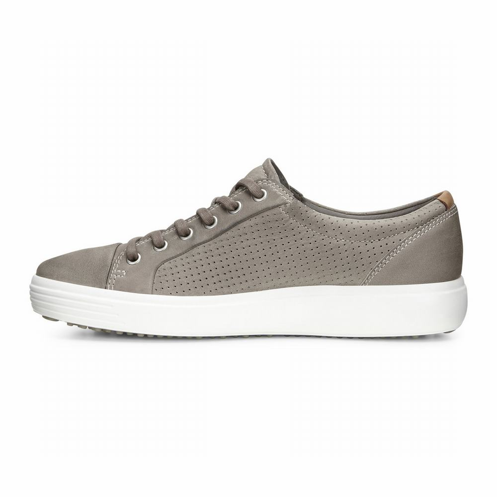 ECCO Men's Soft 7 Perf Tie Sneakers | 81069-224