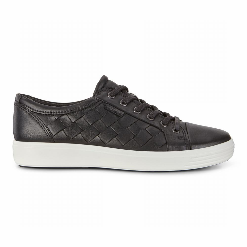 ECCO Men's Soft 7 Woven Tie Sneakers | 28089-315