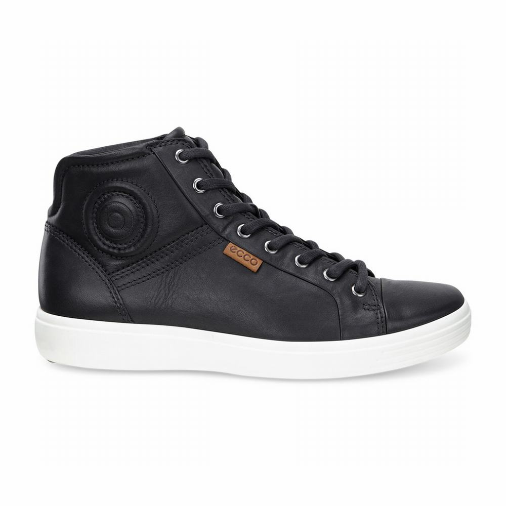 ECCO Men's Soft 7 High Top Sneakers | 44041-119