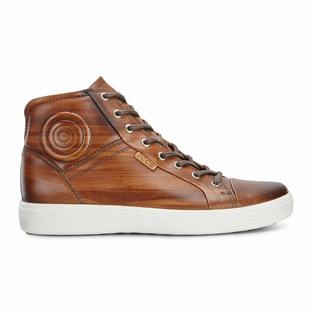 ECCO Men's Soft 7 Premium Sneakers | 46276-448