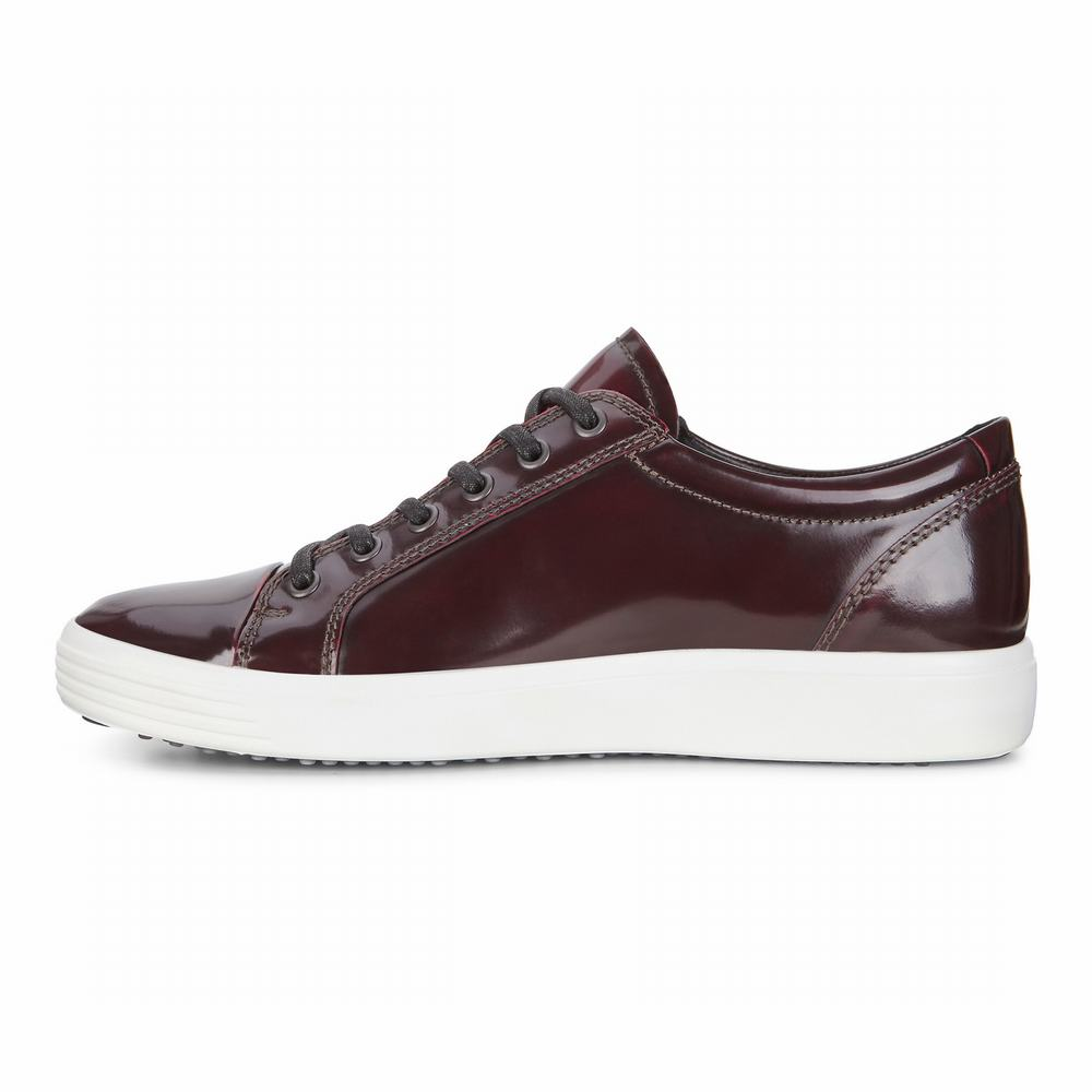 ECCO Mens Soft 7 Luxe Tie Sneakers | 53035-955