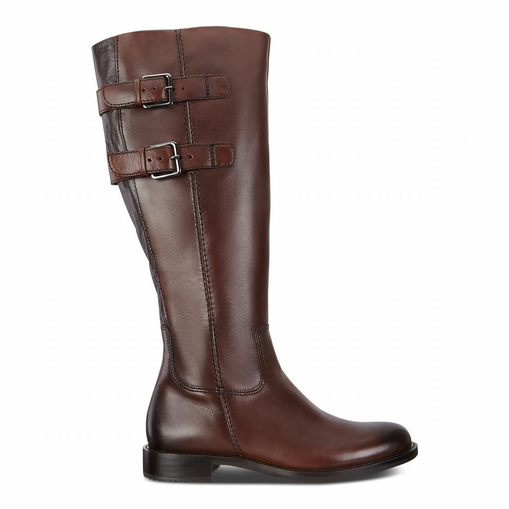 ECCO Sartorelle 25 Buckle Ladies Tall Boots | 14987-742