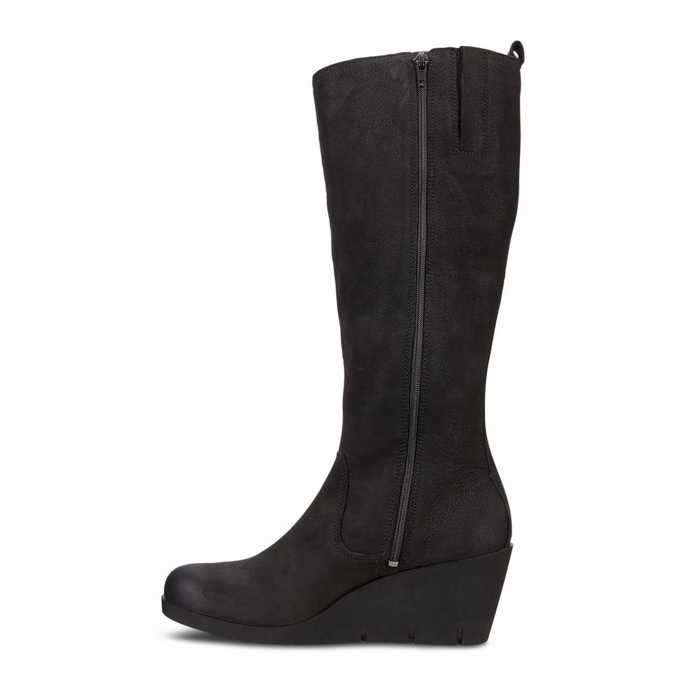 ECCO Bella Wedge Ladies Tall Boots | 53475-962