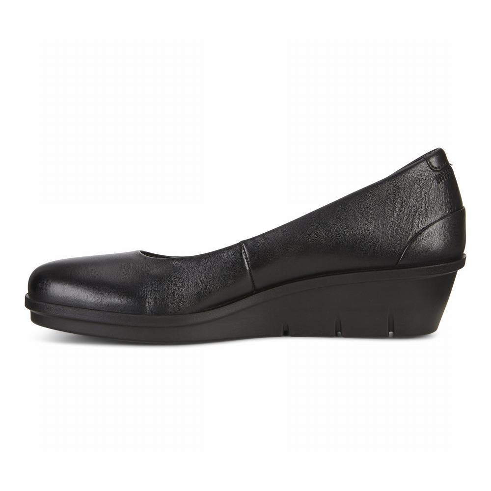ECCO Skyler 45 Wedge Ladies Dress Shoes | 81679-400